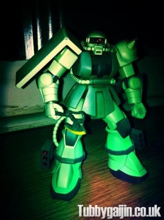HG 1/144 MS-06 Zaku - complete!