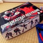 HG 1/144 MBF-P02 Gundam Astray Red Frame V2 - First modding attempt