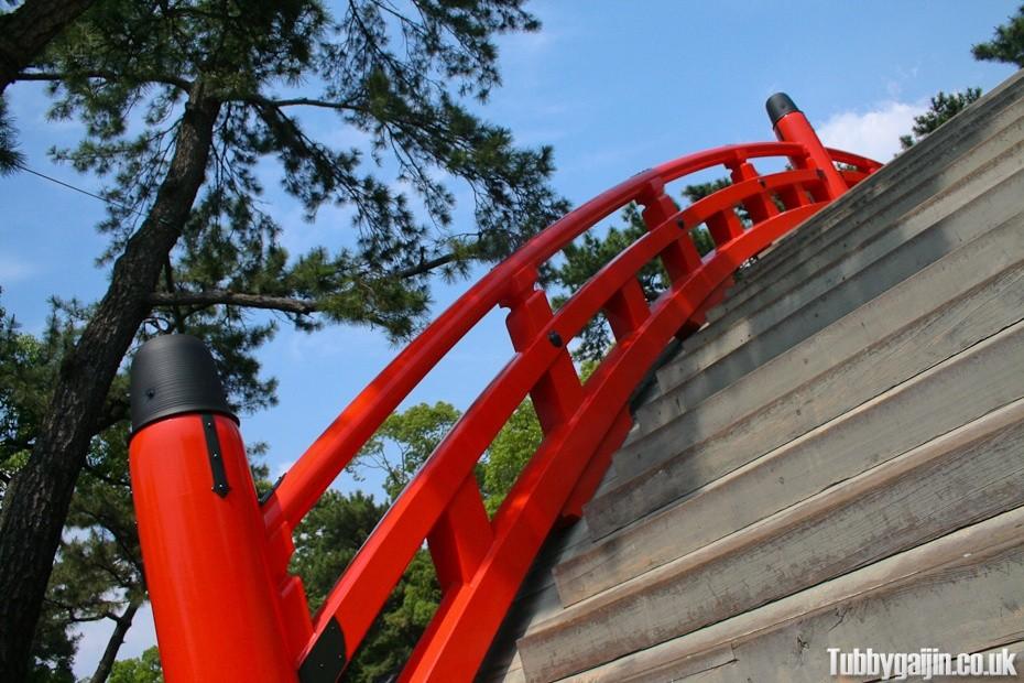 Sumiyoshi-taisha Shrine - Taiko bashi