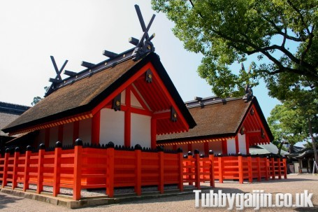 Sumiyoshi-taisha Shrine