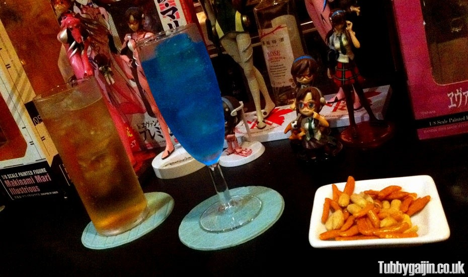 Bar NERV – An Evangelion fans dream boozer!