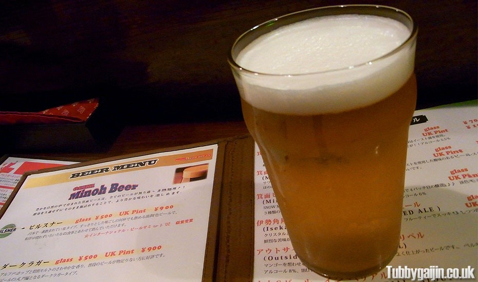 Craft beer in Osaka – Beer Belly