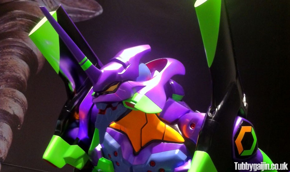 """Evangelion and Japanese Swords Exhibition"" at Osaka Museum of History"
