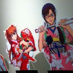 """""""Evangelion and Japanese Swords Exhibition"""" at Osaka Museum of History"""