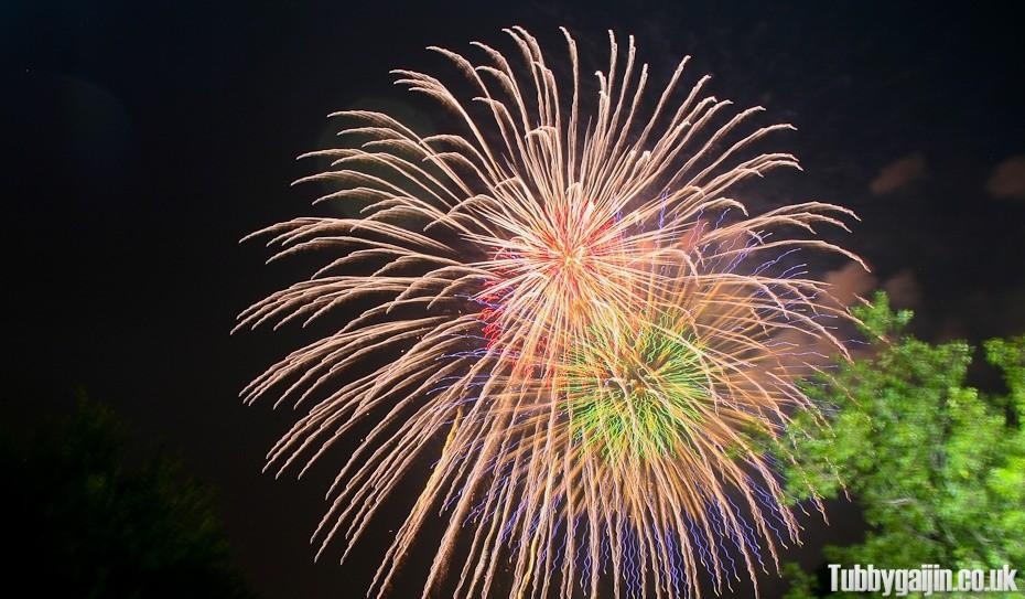 Naniwa Yodogawa Fireworks Festival 2013