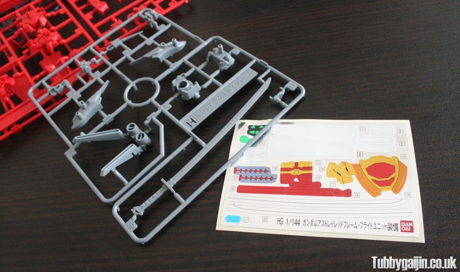 HG 1/144 Gundam Astray Red Frame [Flight Unit] - Review!
