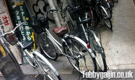 Bikes in Japan