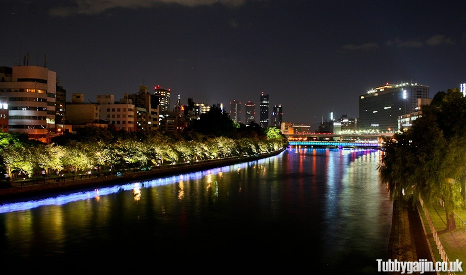 Nakanoshima night walk