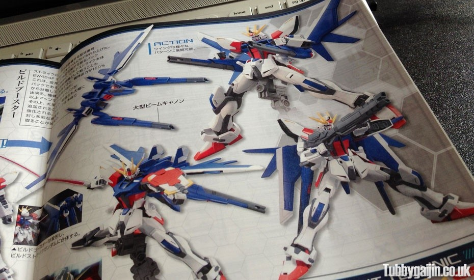 HG 1/144 GAT-X105B/FP Build Strike Gundam Full Package