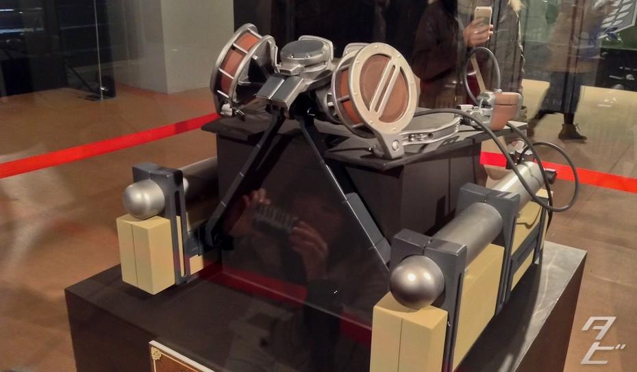 Three Dimensional Maneuver Gear