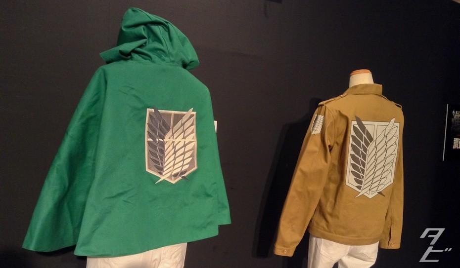 Attack on Titan exhibition in Osaka