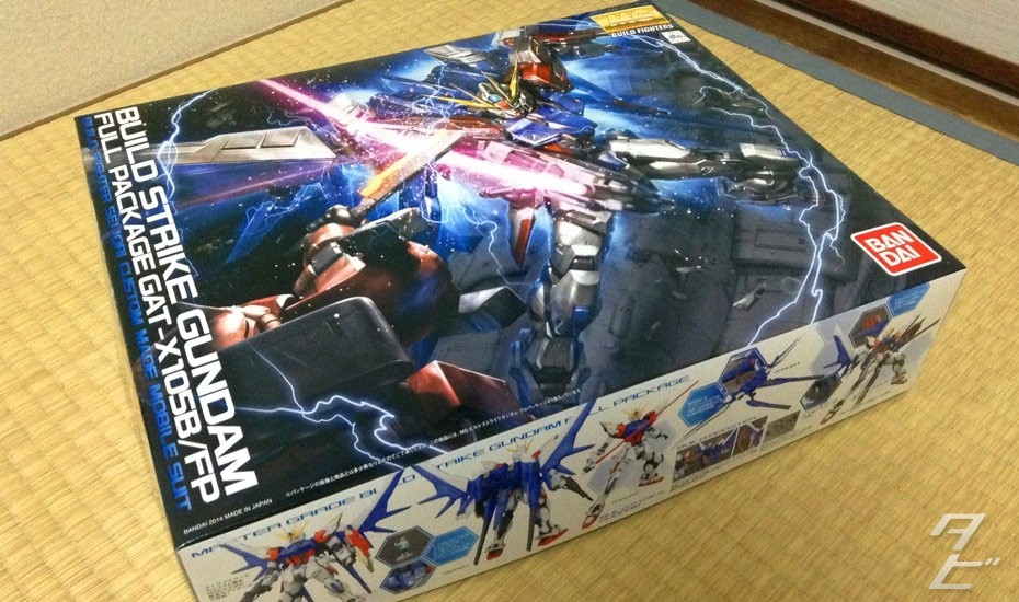 First Impressions – MG 1/100 GAT-X105B/FP Build Strike Gundam Full Package