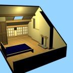 Attic Bedroom Renovation