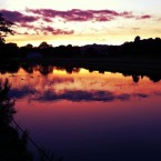 Sunset in Saltaire